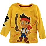 Disney Boys 2-7 Jake Knit Tee, Yellow, 3T