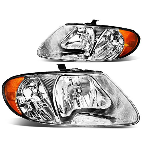 dodge-grand-caravan-chrysler-town-country-pair-of-chrome-housing-amber-corner-headlights