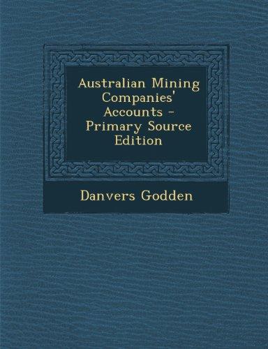 Australian Mining Companies' Accounts
