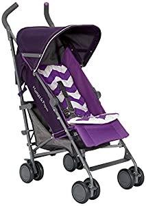 Mamas & Papas Tour Buggy with Liner and Rain Cover (Purple)