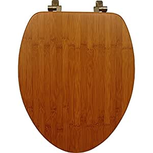 Mayfair 19401NI 568 Solid Bamboo Toilet Seat