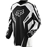 51KjuEV1Z2L. SL160  Fox Racing HC Race Youth Boys MX/Off Road/Dirt Bike Motorcycle Jersey   Color: Black, Size: Medium