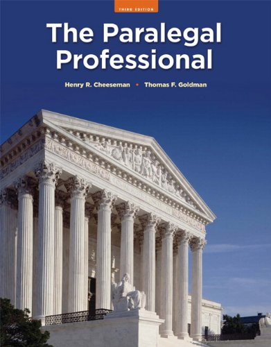 Paralegal Professional, The (3rd Edition)