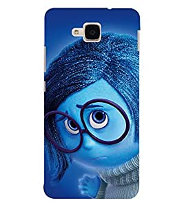 EPICCASE dorky dude Mobile Back Case Cover For Huawei Honor 5c (Designer Case)