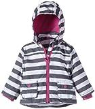 NAME IT Baby - Mädchen (0-24 Monate) Jacke MARIA NB JACKET WDH, Gestreift, Gr. 62, Weiß (Bright White)
