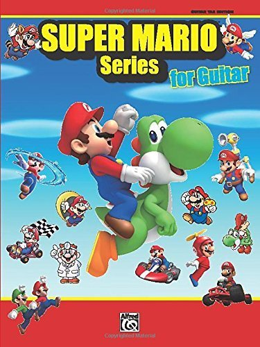 Super Mario Series for Guitar: Guitar Tab by Staff, Alfred Publishing (2011) Sheet music