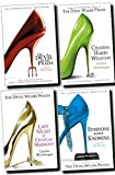 Lauren Weisberger The Devil Wears Prada Collection Lauren Weisberger 4 Books Set (Chasing Harry Winston, Everyone Worth Knowing, Devil Wears Prada, Last Night at Chateau Marmont)
