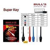 Bulls Superkey Soft Tips Dart Spitzen 6 mm Colorblue