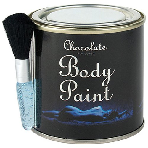 spencer-fleetwood-chocolate-body-paint-tin-and-brush