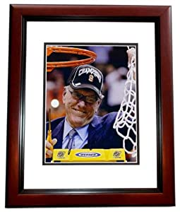 Jim Boeheim Autographed Hand Signed Syracuse Orangemen 8x10 Photo MAHOGANY CUSTOM... by Real Deal Memorabilia