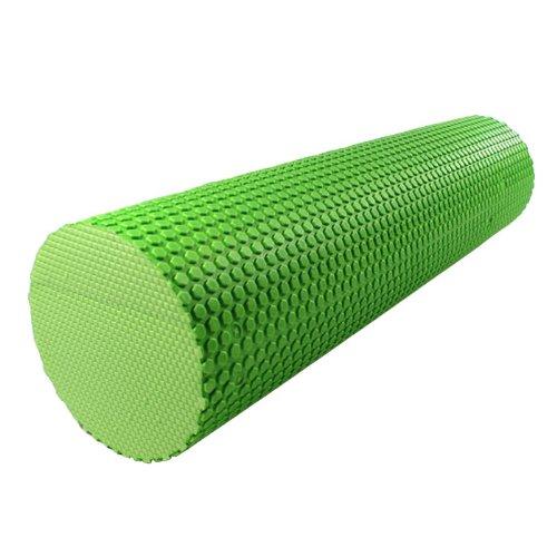 30CM EVA High-Density Foam Roller Fitness Home Gym Pilates Yoga Esercizio Fisioterapia massaggio ecc (verde)