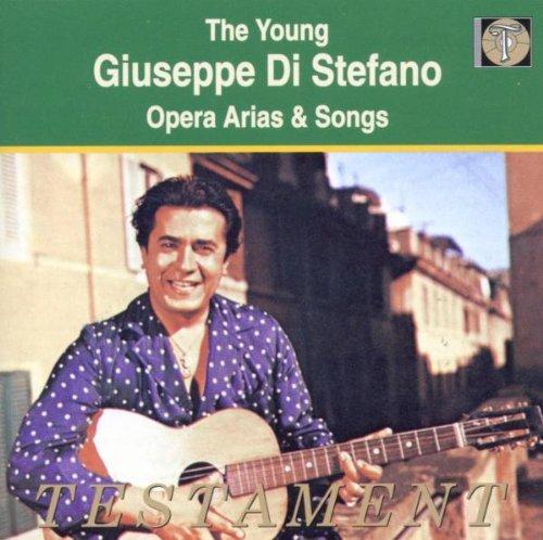 Young Giuseppe Di Stefano-Opera Arias & Songs