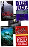 Clare Francis Clare Francis Collection 5 Books Set Pack New RRP: £34.95 (Deceit, Wolf Winter, Betrayal, Red Crystal, Unforgotten)