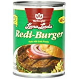 Loma Linda Redi-Burger, Low Fat, 19-Ounce Cans (Pack of 12) ~ Loma Linda