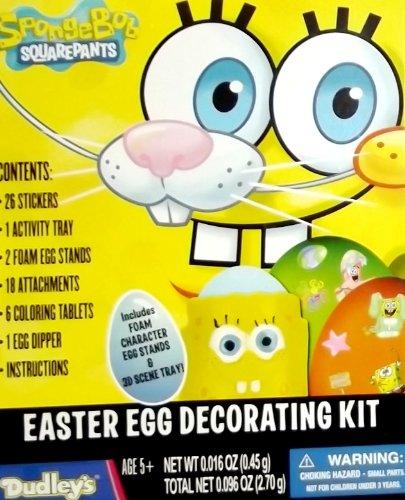 Spongebob Squarepants Easter Egg Decorating Kit - 1