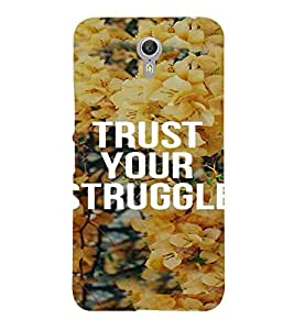 PrintVisa Motivational Quotes Design 3D Hard Polycarbonate Designer Back Case Cover for LENOVO ZUK Z2 PRO