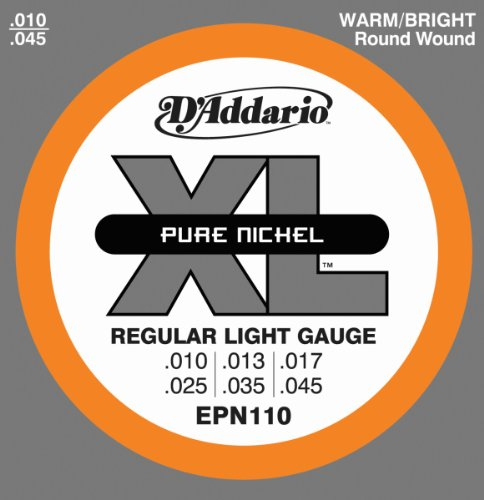 D'Addario EPN110 Pure Nickel Electric Guitar