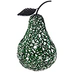 Green Metal Pear Decoration