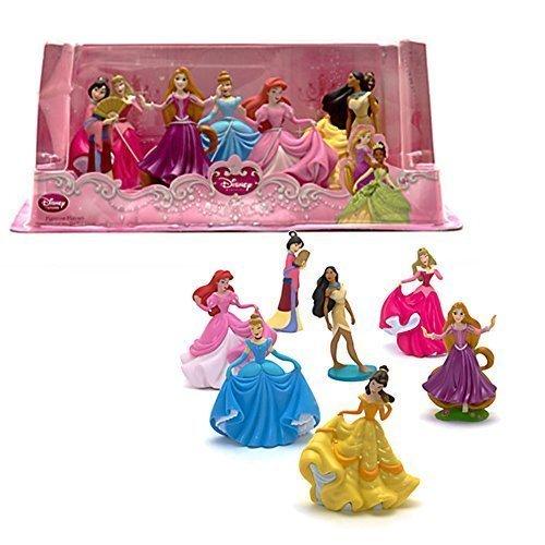 Ufficiale Disney Princess 7 Figurine Playset