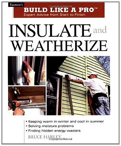 Insulate & Weatherize (Build Like A Pro)