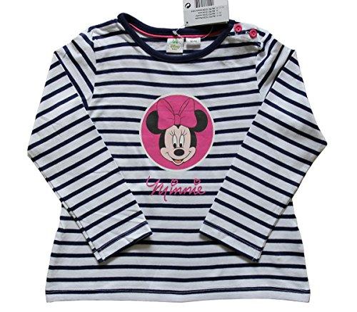 Beb-nias-Original-camiseta-Top-Disney-Baby-Minnie-Mouse-2-24-meses-gris-viejo-y-la-marina-de-guerra-azul-rayas-2-6-meses