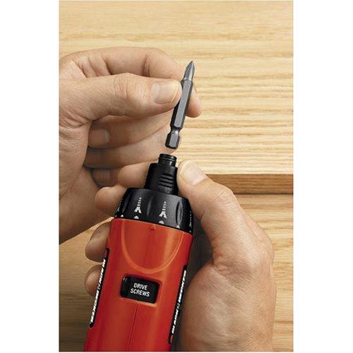 Black & Decker PD600 Pivot Plus 6-Volt Nicad Cordless Screwdriver with Articulating Head via Amazon