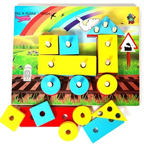 Skillofun Shape Sorter Toy - Engine