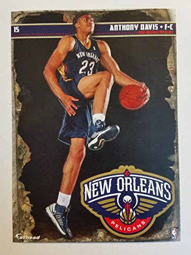 2013-2014 NBA Anthony Davis New Orleans Pelicans Mini Fathead + Mini Pennant