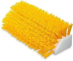 Carlisle 4042304 Sparta Hi-Lo Floor Scrub Brush, Polypropylene Bristles, 10\