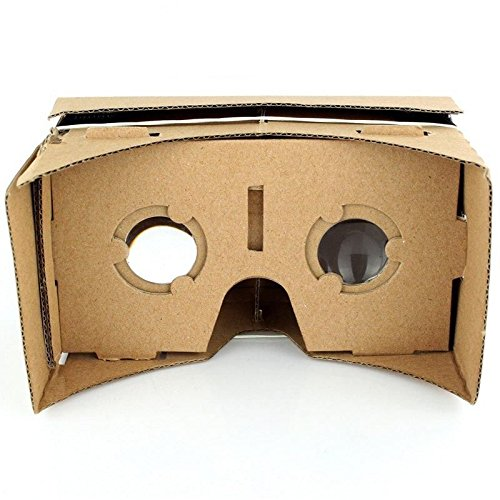 Smilingtree,Google Cardboard DIY 3D VR Virtual Reality Viewing Glasses for iPhone Smartphone