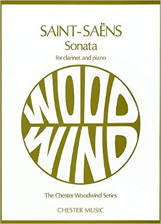 SAINT-SAENS  SONATA FOR      CLARINET AND PIANO OP. 167 (Chester Woodwind Series of Graded Pieces)