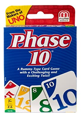 Phase 10 Card Game from Mattel Games