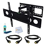 Dual Arm Articulating Wall Mount fo