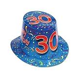 "Beistle 66212-30 25-Pack Happy ""30"" Birthday Hi-Hat by Beistle"