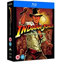 Indiana Jones Complete Adventures on Blu-ray