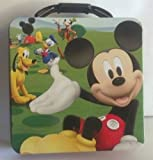 Mickey Mouse Clubhouse Tin Lunch Box ~ small (6 x 6 x 3)