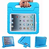 iPad Mini Case, JEAVER [Kids Case] - [Shockproof][Drop Protection][Heavy Duty] Kids Children EVA Case Cover with Carrying Handle Stand For iPad Mini and iPad Mini 2 with Retina - Blue