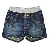(リー)Lee キッズ デニムパンツ 69601R リブ ショーツ ショートパンツ ハーフパンツ 短パン SHORTS デニム ジーンズ 半パン 半ズボン ズボン パンツ ジュニア 100cm 226.DARK BLUE