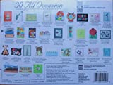 30 Handmade All Occasion Greeting Cards with Decorative Reusable Organizer Box