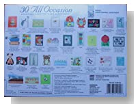 30 Handmade All Occasion Greeting Cards in a Decorative Box