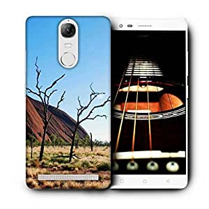 Snoogg Tree Without Leaves Printed Protective Phone Back Case Cover For Lenovo K5 Note