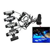 SZD New 12v Car Charge 4x 3led Glow Interior Decorative Atmosphere Neon Light Lamp