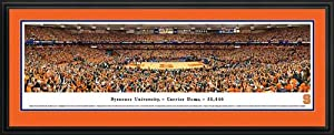 Syracuse Orange - Carrier Dome 2014 - Framed Poster Print by Laminated Visuals