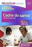 Cadre de santé - Concours d'entrée - Concours IFCS 2016 - Nº73...