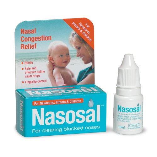 Nasosal Childrens Sterile Nasal Drops  10ml