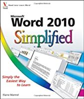 Microsoft Word 2010 Simplified Front Cover