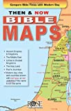 img - for Then and Now Bible Maps - Fold out Pamphlet book / textbook / text book