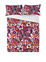 EUROMODA HOME LIVING Juego De Funda Nórdica Namibia (Multicolor)