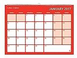 Collins A4 Colplan 2016-2017 Academic Monthly Calendar