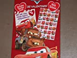 Disney Pixar Cars Valentines with Tattoos (32)